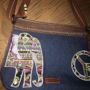 Sakroots Elephant Crossbody